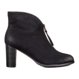 Black Boots with slider VINCEZA