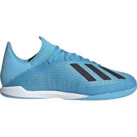 Adidas X 19.3 In M F35371 indoor shoes blue blue