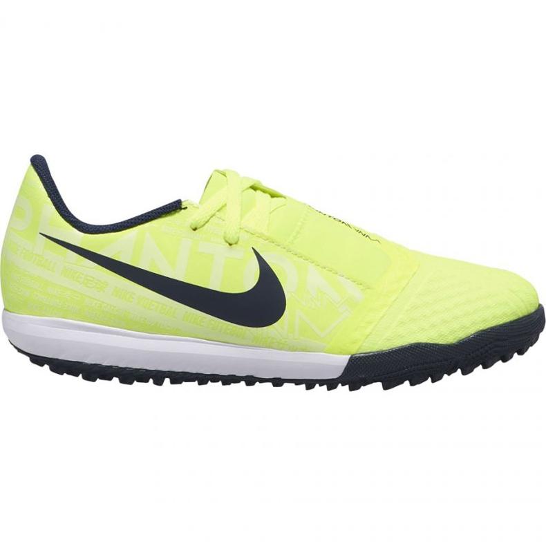 Nike Phantom Venom Academy Tf Jr AO0377-717 football shoes yellow yellow
