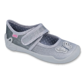 Grey Befado children's shoes 123X034