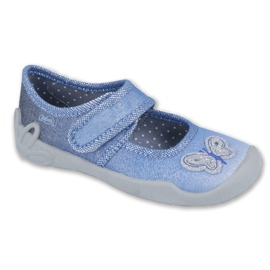 Blue Befado children's shoes 123X035