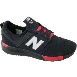 Black New Balance shoes in KL247C1G