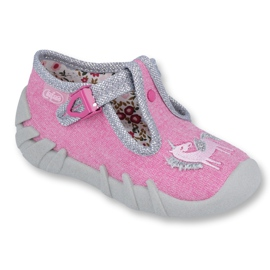 Pink Befado children's shoes 110P360