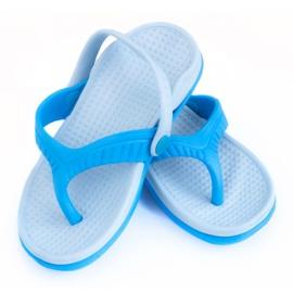 Aqua-Speed blue Aqua-sport Roma Jr 01 498 slippers