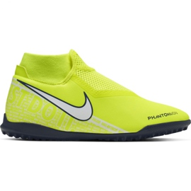 Nike Phantom Vsn Academy Df Tf M AO3269-717 football shoes yellow yellow
