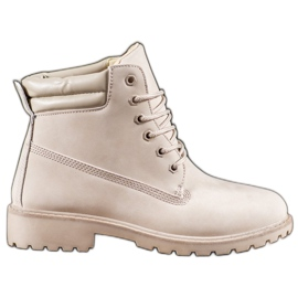 Marquiz Beige Trappers brown