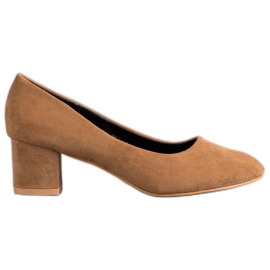 Nio Nio Classic Brown Pumps