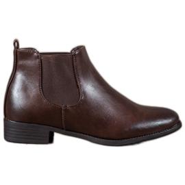 Anesia Paris Brown Jodhpur boots