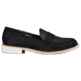 Bestelle black Moccasins With Glitter