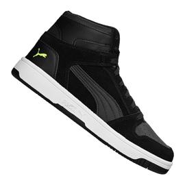 Black Puma Rebound LayUp Sd MW 370219-01 shoes