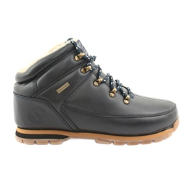 American Club ES40 navy lace-up shoes