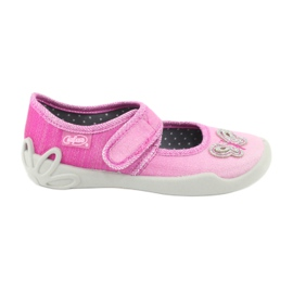Pink Befado children's shoes 123X038