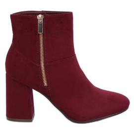 Red Burgundy 7759 Burdeos high heels