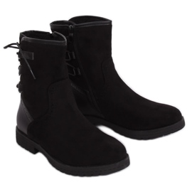Black Insulated boots 8122 Black