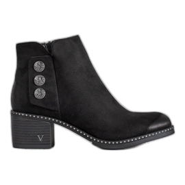 Black Ankle Boots VINCEZA