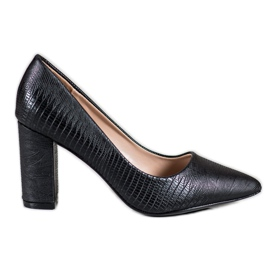 Diamantique Black Pumps