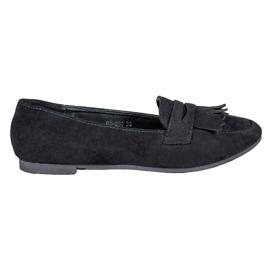 Nio Nio black Suede loafers