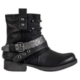 Bestelle black Biker Boots