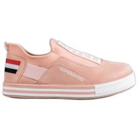 SHELOVET pink Slip Lovelo sneakers