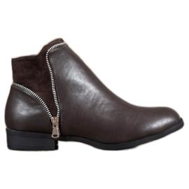 Anesia Paris Brown Women Boots
