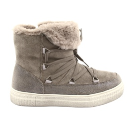 American Club Taupe Eskimo Boots brown