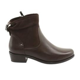 Caprice 25335 brown women's boots