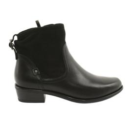 Caprice women's boots 25335 black