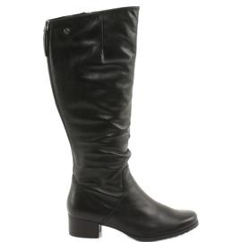 Caprice 25500 black boots