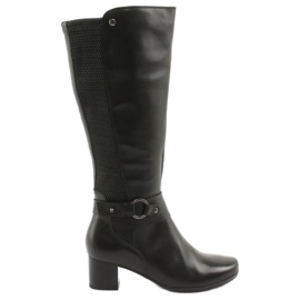 Caprice Boots Stretch width XL 25526 black
