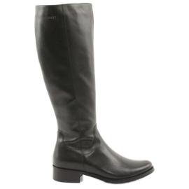 Arka Black boots boots 7447