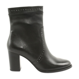 Caprice High Boots with jets black