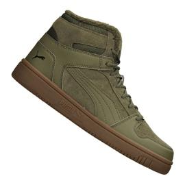 Puma Rebound LayUp Sd Fur M 369831-03 shoes green