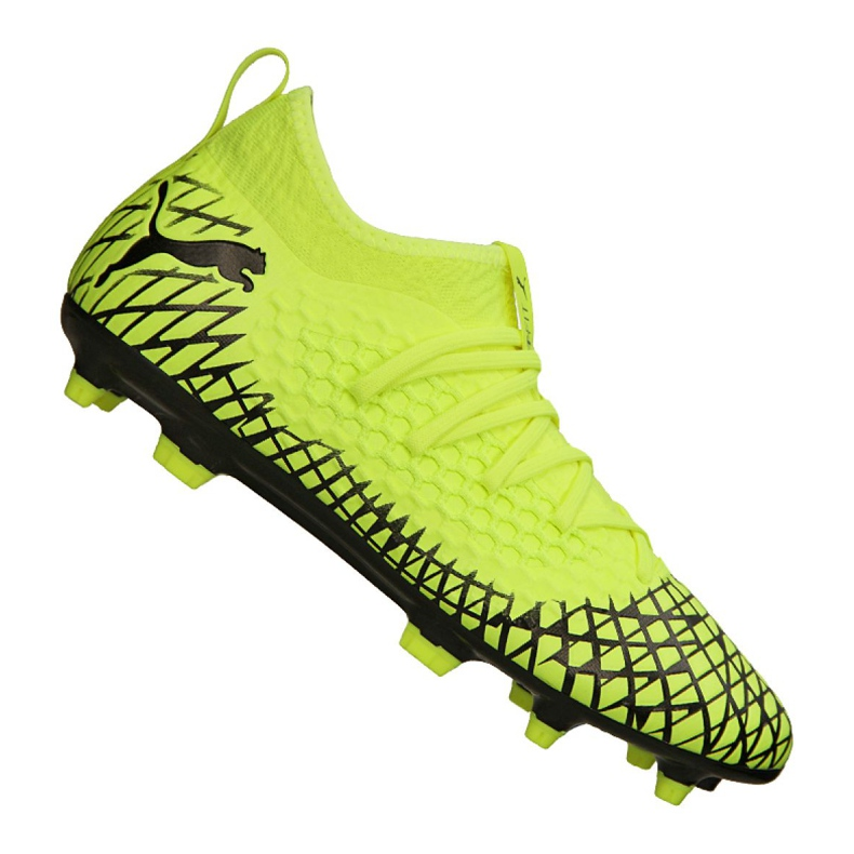 Puma Future 4.3 Netfit Fg / Ag M 105612-03 football boots yellow yellow