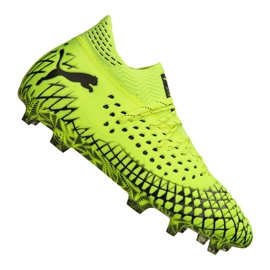 Puma Future 4.1 Netfit Fg / Ag M 105579-03 football boots yellow yellow