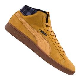 Puma Smash v2 Mid Wtr M 366810-03 shoes brown
