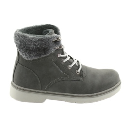 American Club grey RH47 lace-up shoes, gray