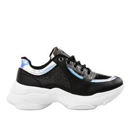 Gemre Black women's sports footwear W-3117