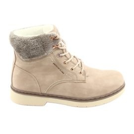 American Club brown Lace-up shoes RH47 beige