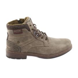 American club men's boots RH31 brown