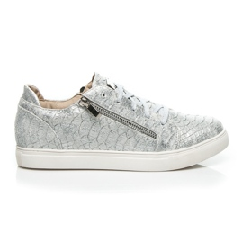 Vices grey Silver Fashion sneakers