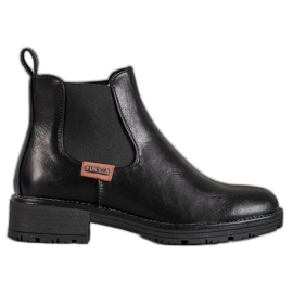 Black Jodhpur boots VINCEZA