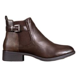 Anesia Paris brown Low Boots Women