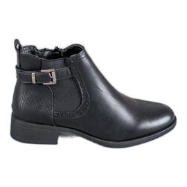 Anesia Paris black Low Boots Women