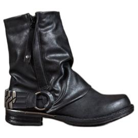 Seastar Biker Boots black