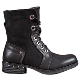 Seastar black Boots On Flat Heel