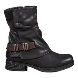 Seastar black Biker boots