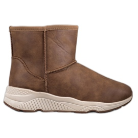 SHELOVET brown Comfortable Snow Boots