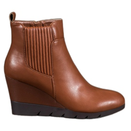 SHELOVET Boots On Wedge