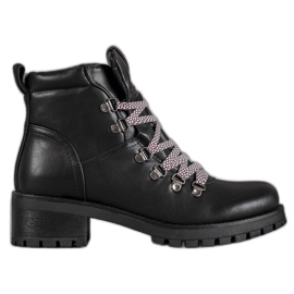 Filippo black Leather Boots
