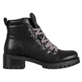 Filippo Leather Boots black
